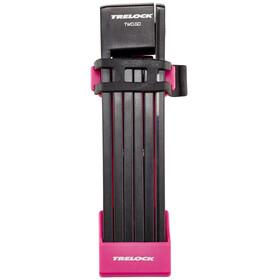 Trelock FS 200 TWO.GO L Fietsslot 100 cm roze